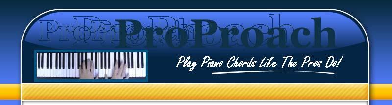 ProProach Piano Chords Program