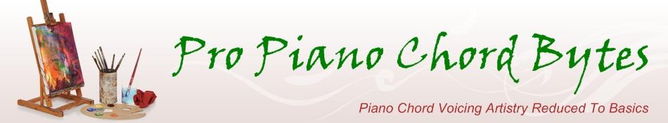 Pro Piano Chord Bytes!